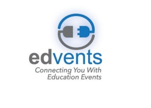 Edvents logo with tagline